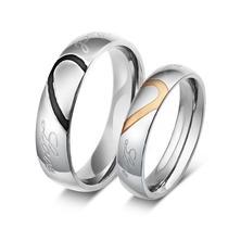Aliança Compromisso Casamento Espessura 8mm Banho Ouro 18k