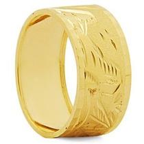 Aliança Escrava Em Ouro Amarelo A.e