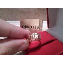 Aliança Ouro 18k 4gr E 7mm De Ourives