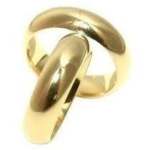 Par Alianças 22 Grs Ouro18k/ 750 Diamantes Frete Nota Fiscal