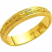 Aliança De Casamento Bodas De Prata 18k - Al36