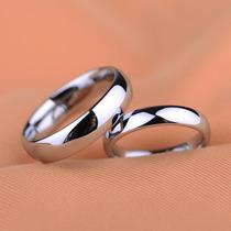 Aliança De Namoro Compromisso Prata Aço Inox