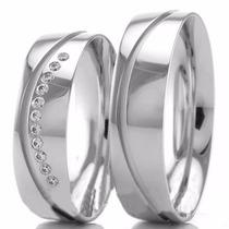 Alianças Prata 950k Baratas Compromisso E Namoro 11 Pedras