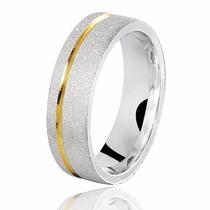 Par De Alianças Prata 950 Diamantada Namoro E Compromisso