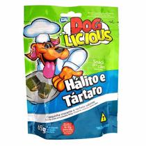 3 Dog Licious Petisco Para Cães Bifinho E Halito E Tartaro.