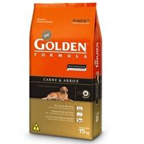 Ração Golden Carne E Arroz Adulto 15 Kg