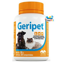 Geripet Suplemento Para Cães E Gatos Vetnil (30 Comprimidos)