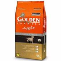 Ração Golden Cães Adultos Light Frango E Arroz 15kg-pet Hobb