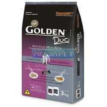 Ração Golden Duo Ad. Salmao/cordeiro Mini Bits 3kg Premier