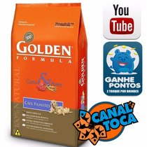 Raçao Golden Carne E Arroz Filhote 15 Kg