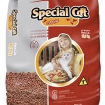 Ração Special Cat Carne Para Gatos Todas Idades 10kg +brinde