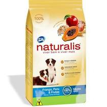 Ração Premium Naturalis Frango E Peru Filhotes 15 Kg