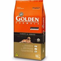 Ração Golden Cães Adultos Carne E Arroz 15kg - Pet Hobby