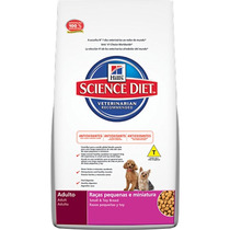 Ração Hills Science Diet Canino Adulto Raças Pequenas 3 Kg