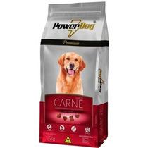 Ração Powerdog Premium Carne Para Cães Adulto 15kg