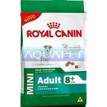 Ração Mini Adult 8+ 7,5g - Royal Canin