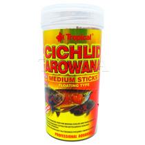 Ração Para Peixes Tropical Cichlid & Arowana Medium Sticks