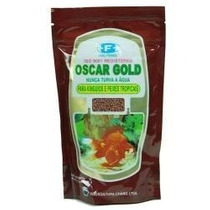 Ração Oscar Gold 400g. Alevinos E Peixes Alimentos