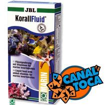 Jbl Korall Fluid 500ml Alimento Corais Aquário Marinho Reef