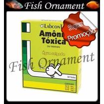Alcon Labcon Teste Amonia Agua Salgada Fish Ornament