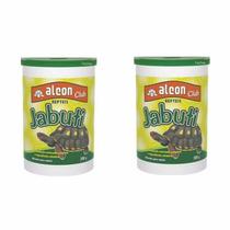 Kit 2 Ração Alcon Jabuti 300g Cada