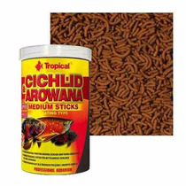 Tropical Cichlid & Arowana Medium Sticks 360gr