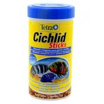 Ração Para Peixe Tetra Cichlid Sticks 250ml 75g