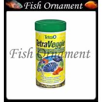 Ração Tetra Veggie Com Spirulina Flakes 52g Fish Ornament