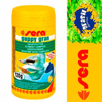 Ração Sera Guppy Gran P/ Lebiste 120gr
