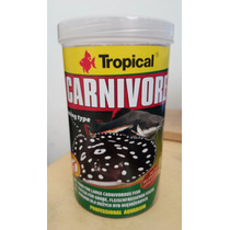Ração Tropical Carnivore 600 Gramas
