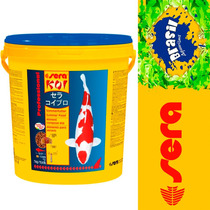Ração Sera Koi Professional Alimento De Verão Carpas 7 Kg.