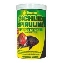 Ração Tropical Cichlid Spirulina 300g Large Stick - Pet Hob