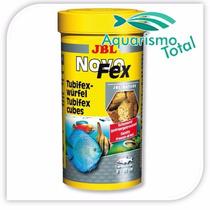 Ração Petiscos Com Tubifex Jbl Novo Fex 10g Peixe Aquário