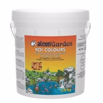 Ração Para Carpas Ornamentais Alcon Garden Koi Colours 1,5kg