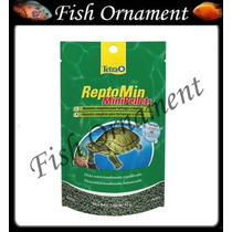 Ração Tetra Reptomin Mini Pellets 47g Fish Ornament