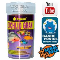Ração Para Ciclidios Tropical Cichlid Gran 100ml 55gr