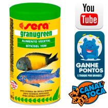 Ração Sera Granugreen 600g Peixes Herbívoros E Ciclídeos