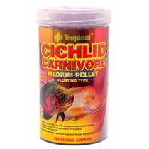 Ração Tropical Cichlid Carnivore Medium Pellets 360 Gr