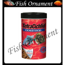Ração Tetra Cichlid Sticks 160 G Fish Ornament