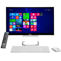 Pc All In One Lg Intel I5, 23,8 Ips, 4gb E 500gb Hd