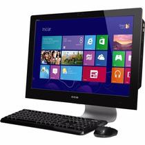 All In One 320gb Hd, 2gb Ram Com Tv Semi-novo Cce Quad-core