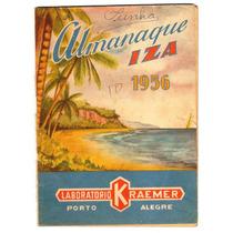 Almanaque Iza - Ano 1956 - Super Raridade!!!