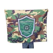 1 Bandeira Personalizada Estampada De 1 Lado - 120cm X 80cm