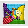 Capas Para Almofadas Decorativas - Romero Brito - Kit Com 6