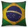 Almofada Decorativa Bandeira Do Brasil