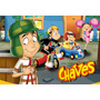 Painel Aniversario Chaves (tecido Oxford 70x100) 39,99