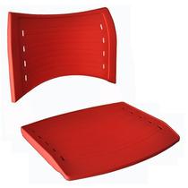 Conjunto Assento E Encosto Para Cadeira Iso Polipropileno