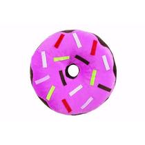 Almofada Rosquinha Donut De Pelúcia