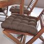 Assento Para Cadeira Futton Confort 40x40cm Tabaco Ecaz