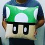 Almofada Quadrada Cogumelo Verde